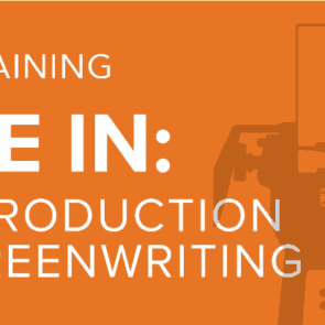 SMPIA Training: An Introduction to Screenwriting (Sat. Oct. 20)